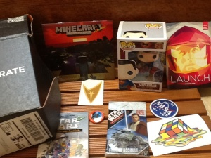 Loot Crate. January 2014
