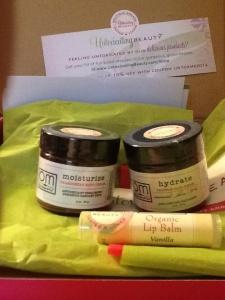 Untoxicating Beauty Subscription Box January 2104